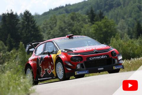 Citroën C3 WRC 2019 – 100eme victoire – Sebastian Ogier – Chassis 007