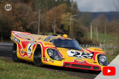 """Porsche 917 """"Tracktool"""" by Peter Bailey"""