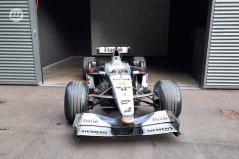 F1 McLaren Mercedes V10 – 2001 David Coulthard